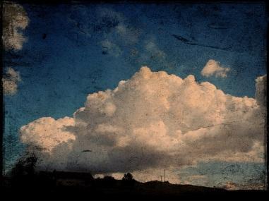 cotton balls make big clouds